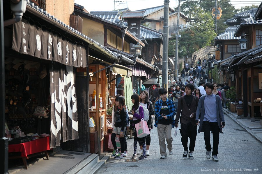 京都清水寺周邊