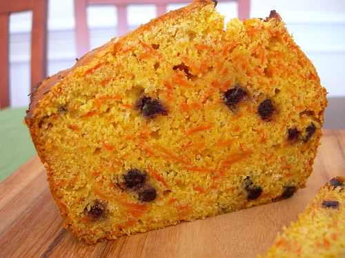 Carrot Blueberry Cornbread