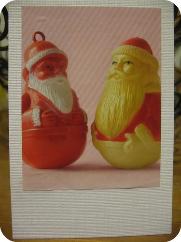 Faux-laroid Santas