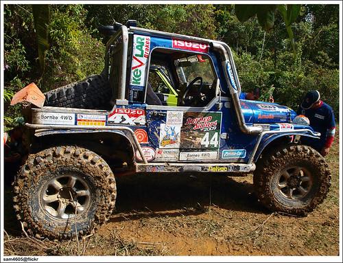 Ranau 4x4 Challenge - Kampung Tagudon Ranau - Jeep Renegade