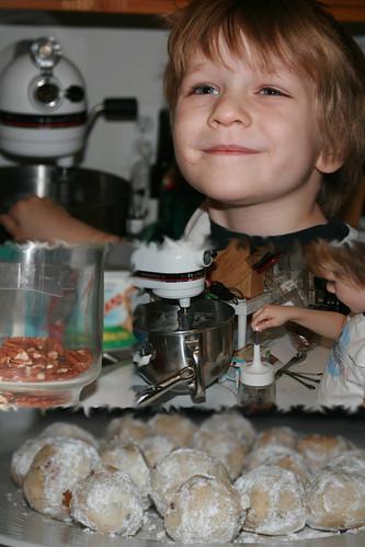 make cookies