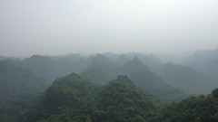 View from the top of Cat Ba Island