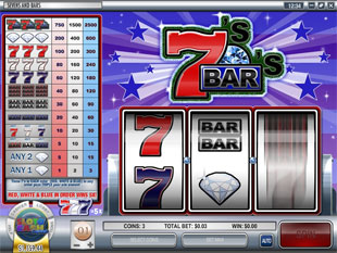 Sevens and Bars slot game online review