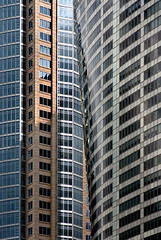 Towers and tones ..... (Bruce Kerridge) Tags: city building glass architecture skyscraper office nikon sydney australia explore architect weekly renzopiano auroraplace kohnpedersenfox d80 plusten