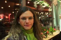 Farah beim Transgender-Euregio-Treff