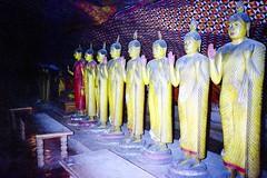 930200 8 Budhisattva Statues (rona.h) Tags: 1993 srilanka february cacique ronah dambukka