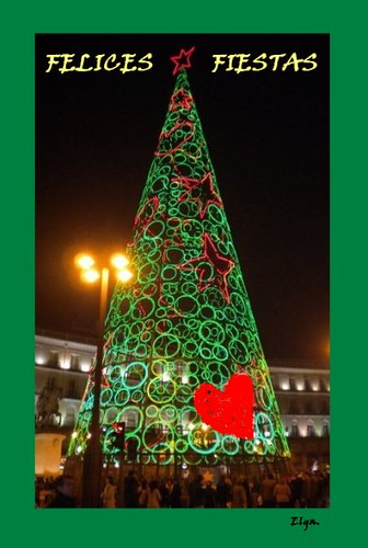 plaza sol madrid navidad agatha ruiz de la prada