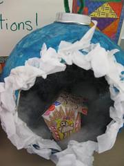 Paper Mache Christmas Balls