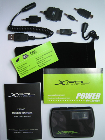 Energizer XPAL Power XP2000 Package