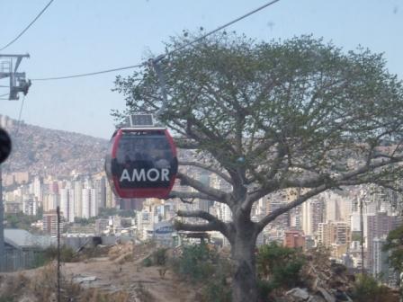 MetroCable Caracas amor