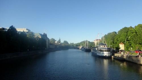 Aura River in the sun, Turku (20110603)