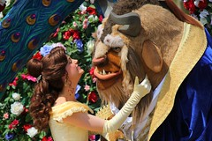 Festival of Fantasy parade at Walt Disney World (insidethemagic) Tags: anna olaf frozen costume close zoom character disney parade waltdisneyworld float elsa themepark magickingdom festivaloffantasy