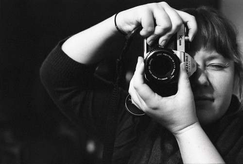 ash and her pentax