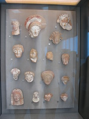 Terracotta female protomes (busts)