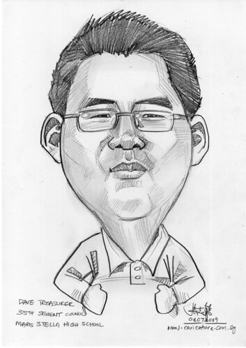 Caricature for Maris Stella High School -4