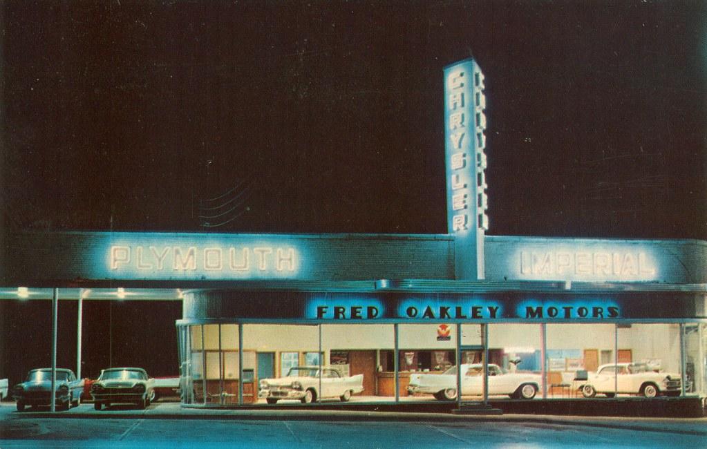 Fred Oakley Motors, Chrysler-Plymouth, Dallas TX