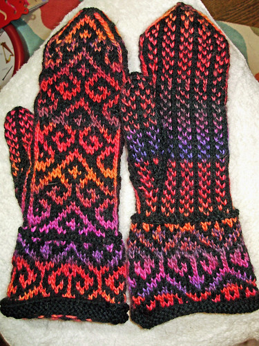 Beth's Mosaic Mittens