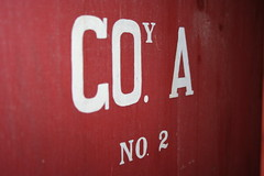 Company A, Number Two (lars hammar) Tags: door 2 history minnesota sign army fort label military stpaul historic company fortsnelling minnesotahistoricalsociety abbeviation