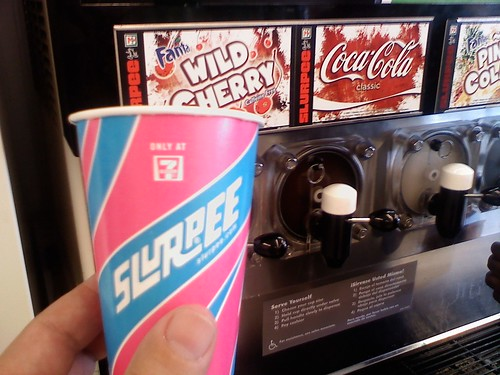 Get your free slurpee @ 7-Eleven today