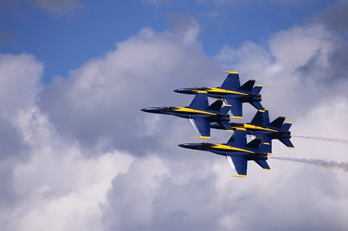 Blue Angels (by John Brainard)