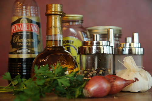 Balsamic Vinaigrette Indredient Still Life