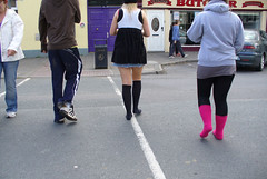 Fox in Socks (eyair) Tags: street ireland girls dublin socks wicklow blessington ashmashashmash
