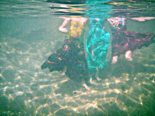 headless dressed bodies underwater hdr