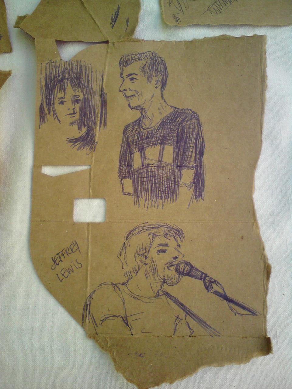 Concert sketches