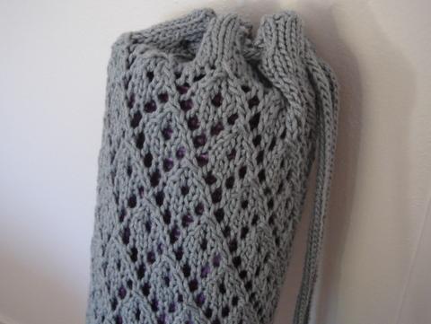 Knitted Yoga Bag Pattern | 1000 Free Patterns