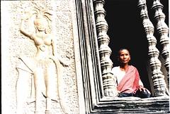 Cambodia, Angkor Wat Devotee