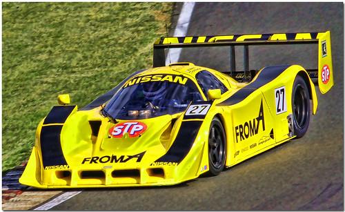 1990 Nissan R90c Group C Sportscar Silve 海外のスポーツカー