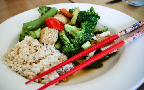 Dinner: Tofu Stir Fry