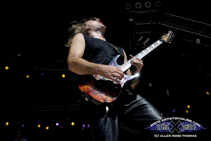 Hans Ziller performing at Rocklahoma 2009