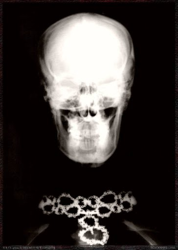 Helmut Newton x-ray necklace