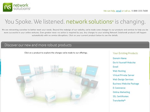 Network advertising
