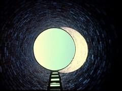 Silo (ricko) Tags: sky sunlight deleteme brick film saveme4 saveme5 saveme6 saveme savedbythedeletemegroup saveme2 saveme3 saveme7 scan silo lookingup saveme10 ill saveme8 saveme9 ektachrome 1976 rochelle 35mmslide saveme11 saveme12 saveme13
