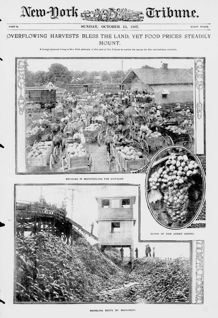 Overflowing Harvests by Library of Congress from Flickr
