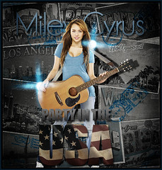 Miley Cyrus - Party In The Usa (FrankyI'm Back) Tags:
