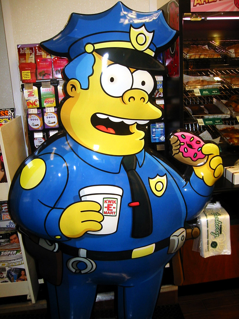 The world 39 s best photos of 711 and snack flickr hive mind - Police simpsons ...