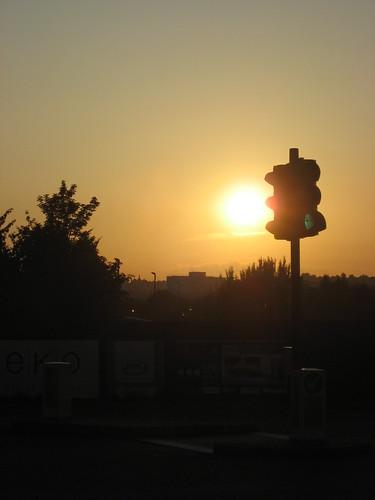 Kentish Town Sunset