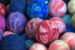 Felt balls (vbd) Tags: pentax connecticut ct coventry 2009 manualfocus feltballs vbd k200d coventryfarmersmarket summer2009 asahismcpentaxm50mmf17
