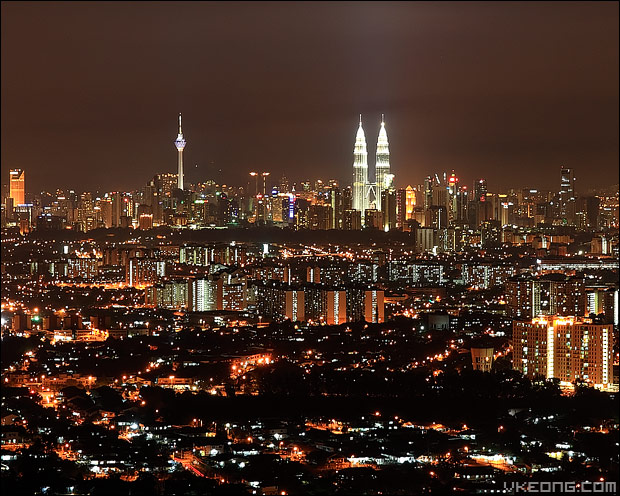 kl-city-night-view