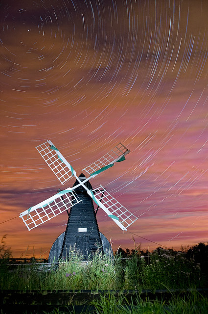 Startrails Over Wicken Fen