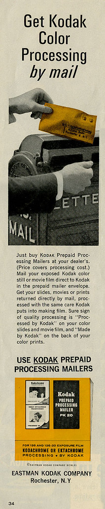Kodak Prepaid Processing ad_July 1964_tatteredandlost