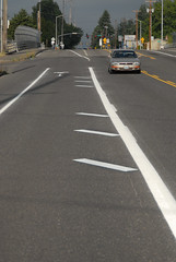 Buffered bike lanes on SE Holgate-2