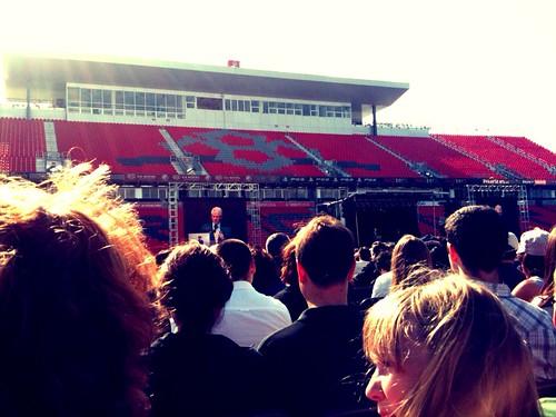 Clinton's speech at the CNE