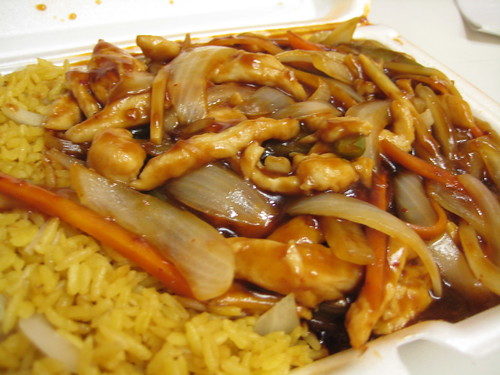 Szechuan Chicken at China Express