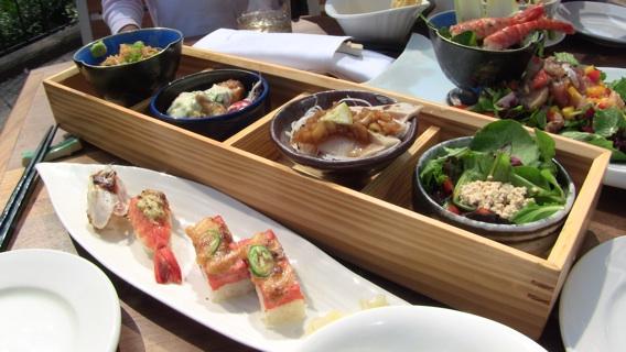 Lunch at Miku Restaurant