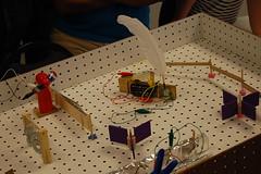 DSC_0463 (CMHouston) Tags: pie pinball switches sciencemuseumofminnesota tinkering childrensmuseumofhouston texnet electricpinball toytakeapart