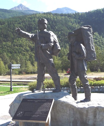 Skagway Centennial Statue